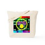 Star Pig Disco Graphic Tote Bag