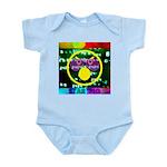 Star Pig Disco Graphic Infant Bodysuit