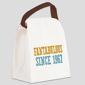 Fantabulous Since 1967 Canvas Lunch Bag