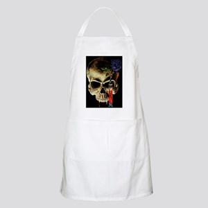 Skull and Rose BBQ Apron