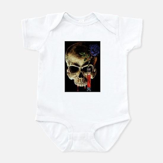 Skull and Rose Infant Bodysuit