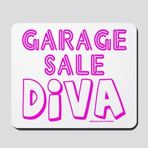 GARAGE SALE DIVA Mousepad