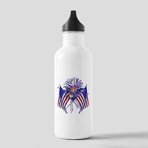 Celebrate America fireworks Stainless Water Bottle