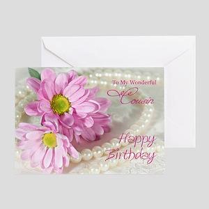 Cousin birthday card Greeting Card