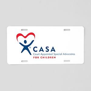 CASA Logo (Horizontal) Aluminum License Plate