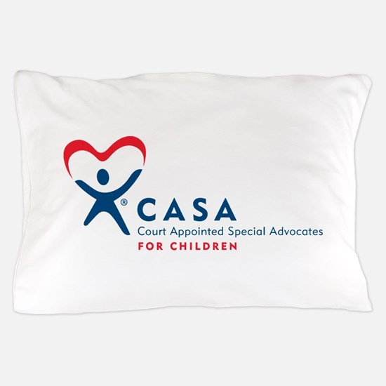 CASA Logo (Horizontal) Pillow Case