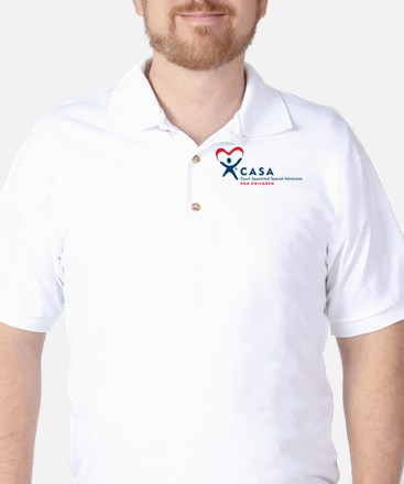 CASA Logo (Horizontal) Golf Shirt