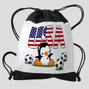 USA Soccer Drawstring Bag