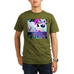Disco Fairy Drag Diva Organic Men's T-Shirt (dark)