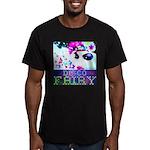 Disco Fairy Drag Diva Men's Fitted T-Shirt (dark)