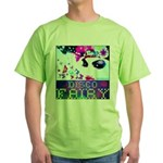 Disco Fairy Drag Diva Green T-Shirt