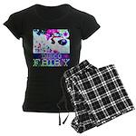 Disco Fairy Drag Diva Women's Dark Pajamas