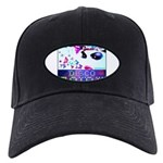 Disco Fairy Drag Diva Black Cap