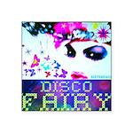 "Disco Fairy Drag Diva Square Sticker 3"" x 3&q"