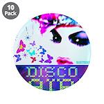"Disco Fairy Drag Diva 3.5"" Button (10 pack)"