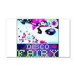 Disco Fairy Drag Diva Car Magnet 20 x 12