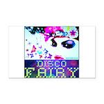 Disco Fairy Drag Diva Rectangle Car Magnet