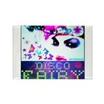Disco Fairy Drag Diva Rectangle Magnet
