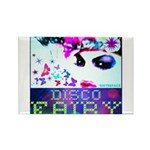 Disco Fairy Drag Diva Rectangle Magnet (10 pack)