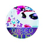 "Disco Fairy Drag Diva 3.5"" Button"