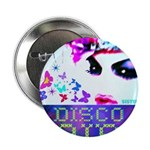 "Disco Fairy Drag Diva 2.25"" Button"