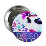 "Disco Fairy Drag Diva 2.25"" Button (100 pack)"