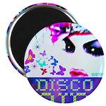 """Disco Fairy Drag Diva 2.25"""" Magnet (10 pack)"""