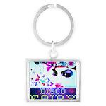 Disco Fairy Drag Diva Landscape Keychain