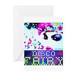 Disco Fairy Drag Diva Greeting Card