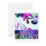 Disco Fairy Drag Diva Greeting Cards (Pk of 10)