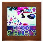 Disco Fairy Drag Diva Framed Tile