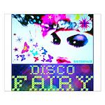 Disco Fairy Drag Diva Small Poster