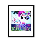 Disco Fairy Drag Diva Framed Panel Print