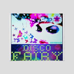 Disco Fairy Drag Diva Throw Blanket