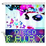 Disco Fairy Drag Diva Shower Curtain