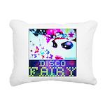 Disco Fairy Drag Diva Rectangular Canvas Pillow