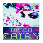 Disco Fairy Drag Diva Tile Coaster