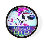 Disco Fairy Drag Diva Wall Clock