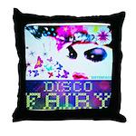 Disco Fairy Drag Diva Throw Pillow