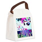 Disco Fairy Drag Diva Canvas Lunch Bag