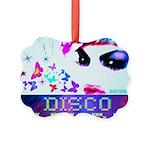 Disco Fairy Drag Diva Picture Ornament