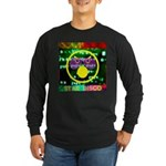 Star Disco Graphic Long Sleeve Dark T-Shirt
