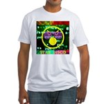 Star Disco Graphic Fitted T-Shirt