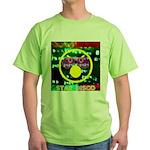 Star Disco Graphic Green T-Shirt