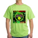 Star Disco Graphic Green T-Shirt