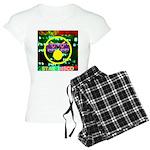 Star Disco Graphic Women's Light Pajamas