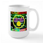 Star Disco Graphic Large Mug