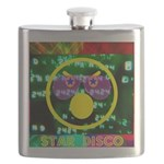 Star Disco Graphic Flask
