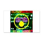 Star Disco Graphic 20x12 Wall Decal