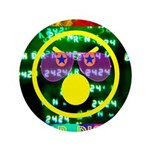 """Star Disco Graphic 3.5"""" Button (100 pack)"""